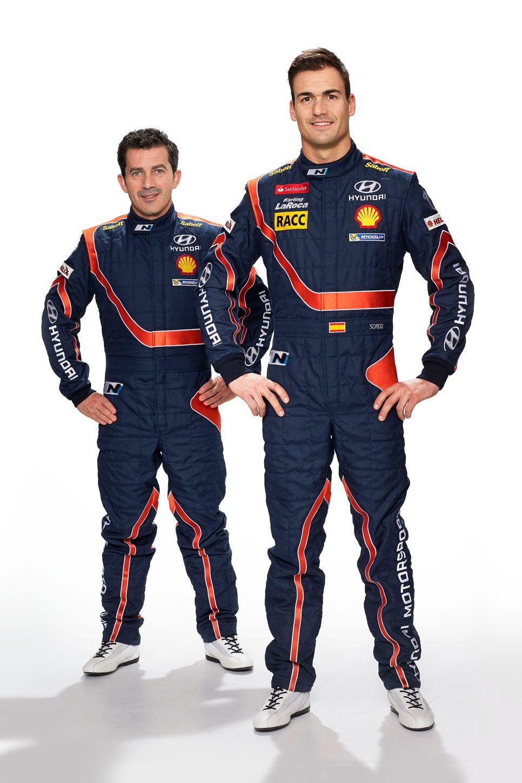 Dani Sordo y Marc Martí, hombres Hyundai