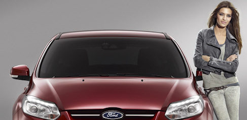 Sara Carbonero, imagen del nuevo Ford Focus