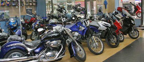 Las ventas de motos sufren en febrero