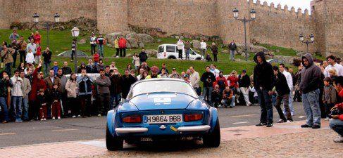 Ávila preparada para la III Edición del Rally de España Histórico