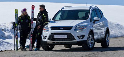 Ford lanza 500 únicas unidades del Kuga Baqueira/Beret