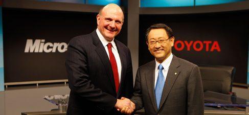 Alianza entre Microsoft y Toyota para la mejora de la tecnología telemática