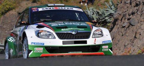 Hänninen y Fuster vencedores del Rally de Canarias, en sus categorías