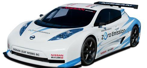 Nissan presenta el prototipo de competición del LEAF: el NISMO RC