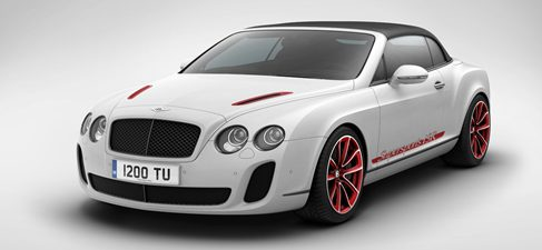 "Bentley Supersports ""Ice Speed Record"", solo 100 unidades"