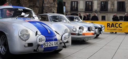 El Rally Internacional de Coches de Época Barcelona-Sitges, este fin de semana