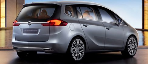 El nuevo Opel Zafira será presentado en el Salón del Automóvil de Ginebra