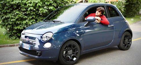Fernando Alonso cambia el F150th Italia por el Fiat 500 Twin Air