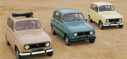 Modelos de Renault 4