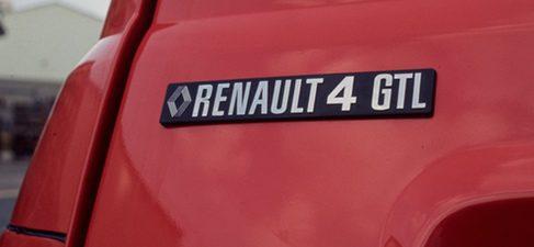 Chapa del Renault 4