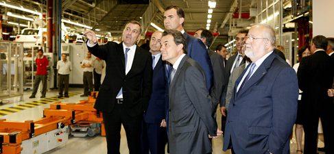 El Príncipe de Asturias y de Girona inaugura el centro de producción del nuevo Audi Q3