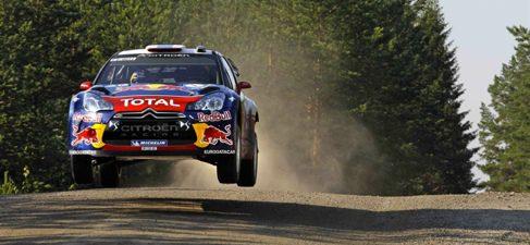Sébastien Loeb gana el Rally de Finlandia 2011