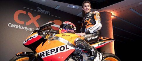 Marc Márquez totalmente adaptado a su nueva Moto2