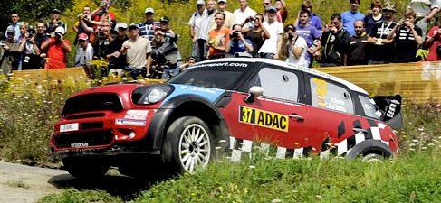 Ogier bate a Loeb en el Rally de Alemania, con Sordo en el podio