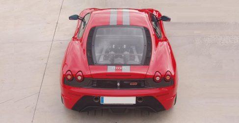 Concentración de Ferrari al norte de Toledo