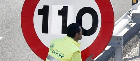 Murcia incumple la nueva señalización a 110 km/h