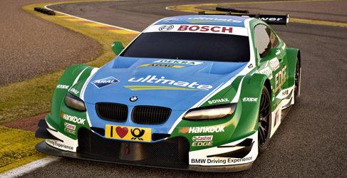 BMW desvela los primeros colores para su campaña en el DTM