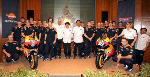 Repsol Honda presenta su equipo 2012