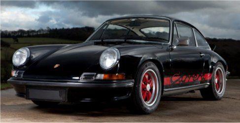 Jenson Button vende su Porsche 911 2.7 Carrera RS