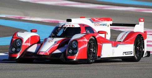 Sébastien Buemi completa su primer test con el Toyota TS030