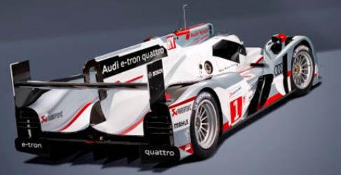 Audi presenta el híbrido R18 e-tron quattro en Múnich