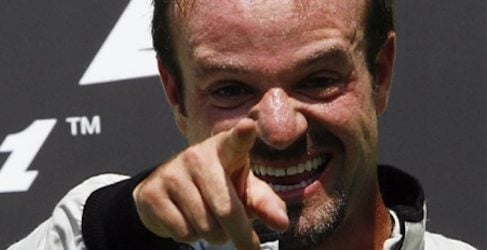 Rubens Barrichello podio