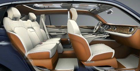 El SUV de Bentley se llama EXP 9 F Concept
