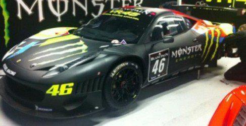 Valentino Rossi estará en la Endurance Blancpain Series con Ferrari