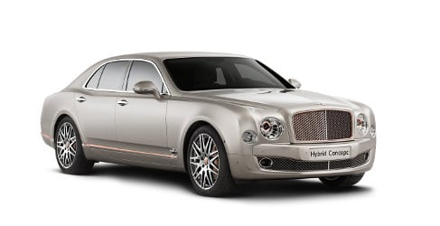 Bentley presenta en Beijing su primer híbrido