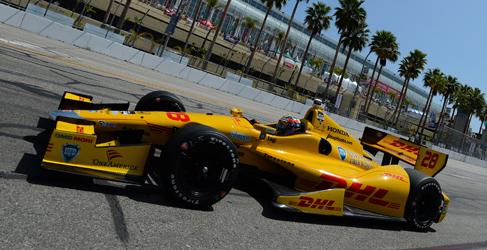 Ryan Hunter-Reay se lleva la pole en Long Beach