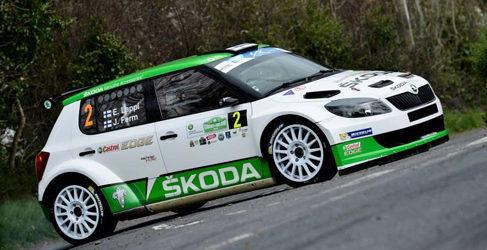 Esapekka Lappi gana el Circuit of Ireland del ERC