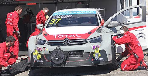 Loeb y Pechito López, excluidos de la clasificación