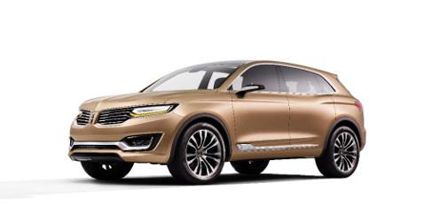 Lincoln presenta en el Salón de Pekín el MKX concept