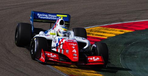 Oliver Rowland poleman de la 2ª carrera en MotorLand