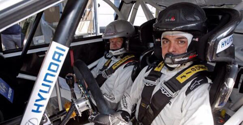 Bryan Bouffier probador de Hyundai Motorsport otra vez