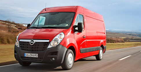 Opel Vivaro y Movano también desde Birmingham