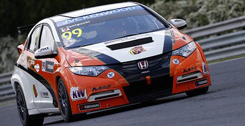 Honda ruge en el primer día del WTCC en Hungaroring
