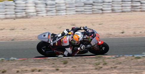 Varios test privados de Moto2 y Moto3 en España