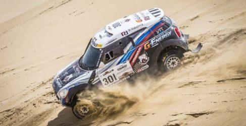 Inscritos en coches en el Rally de los Faraones