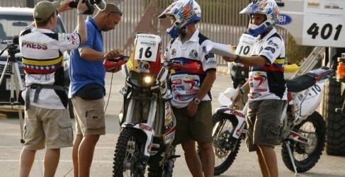 Inscritos en motos en el Rally de los Faraones