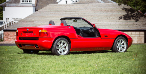 descubierto en una subasta un bmw z1 a estrenar motor y racing. Black Bedroom Furniture Sets. Home Design Ideas