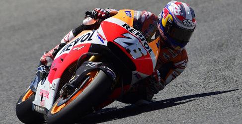 Márc Márquez empieza al frente de MotoGP en Le Mans
