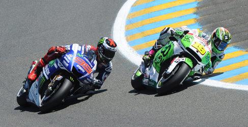 Las mejores imágenes del GP de Francia de MotoGP 2014