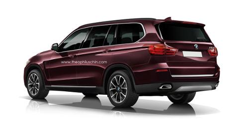 Primeros renders del futuro aspecto del BMW X7