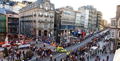 Vallejo gana la segunda en el Rally Rías Baixas