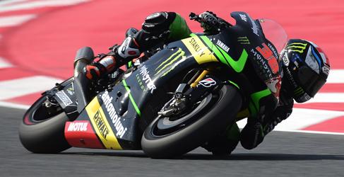 Bradley Smith reina en el segundo libre de MotoGP en Montmeló