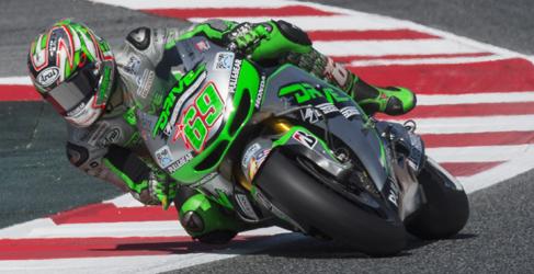 Warm up de MotoGP en Barcelona para Dani Pedrosa