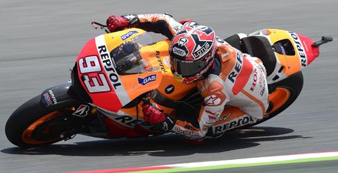 Marc Márquez domina el test post GP en Barcelona