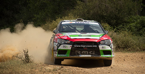 Amador Vidal hace suyo el Rally de Tierra del Bierzo