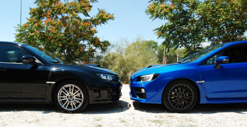 Test comparativo exclusivo: Subaru WRX STI 2011 vs STI 2015